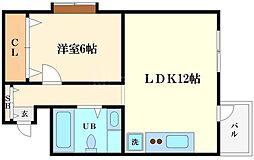 シルクルーム8番館[3階]の間取り
