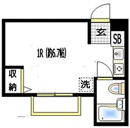 SHメゾン横浜鶴見[2階]の間取り