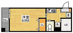 ALDEPLAZA[7階]の間取り