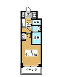 S RESIDENCE鶴舞[10階]の間取り