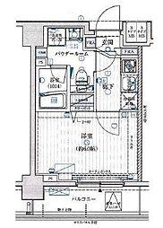 メインステージ横濱ポートサイド[2階]の間取り