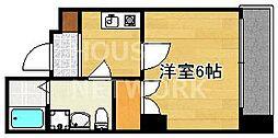 京都今出川レジデンス[202号室号室]の間取り