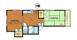 パークタカヤマ[1階]の間取り