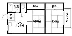 イズミマンション[5号室]の間取り