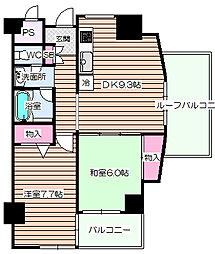 エスリード福島[6階]の間取り