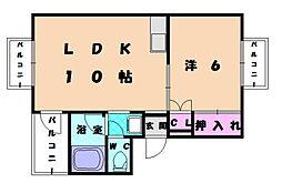 TS崎村ビル[5階]の間取り