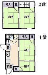 [一戸建] 三重県松阪市垣鼻町 の賃貸【/】の間取り