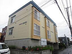 北海道札幌市北区篠路七条4丁目の賃貸アパートの外観