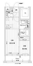 福岡県福岡市早良区昭代1丁目の賃貸マンションの間取り