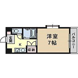 エンジェリ寿[2階]の間取り