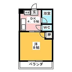 オーガスト[2階]の間取り