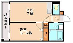 コリール太宰府[2階]の間取り
