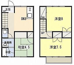 [テラスハウス] 神奈川県平塚市長持 の賃貸【/】の間取り