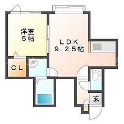 Mocha[2階]の間取り