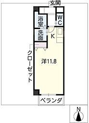 メゾンエスポワール[1階]の間取り