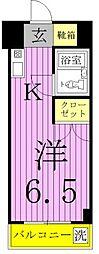 エレガンス綾瀬5[4階]の間取り