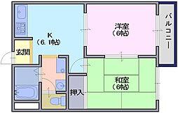 プレミール[2階]の間取り