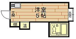 ラパンジール本田1[2階]の間取り