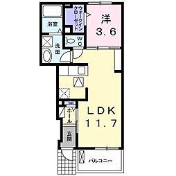 仮称)倉治3丁目Wi-Fiネット無料新築[1階]の間取り