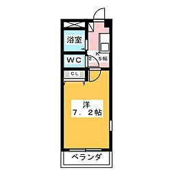 トリコロールハウス加藤[1階]の間取り