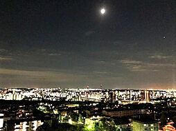 住戸からの夜景。H31.3月