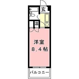SPAZIO[3階]の間取り