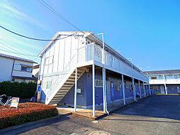 東京都東久留米市浅間町2丁目の賃貸アパートの外観