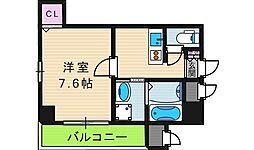 MAPLE夕陽ヶ丘[5階]の間取り