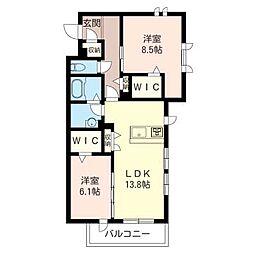 GRAND STAGE[2階]の間取り