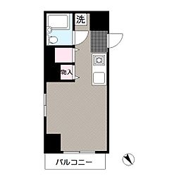 東京都江戸川区西葛西2丁目の賃貸マンションの間取り