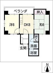 レスポアール大須ELM[4階]の間取り