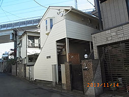 東京都品川区二葉3丁目の賃貸アパートの外観