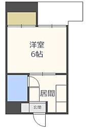 オーリン6号ビル[5階]の間取り