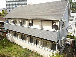千葉県柏市東上町の賃貸アパートの外観