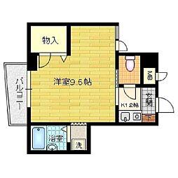 グリーンバースアオヤマ[305号室]の間取り