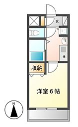 プレサンス名古屋城前[3階]の間取り