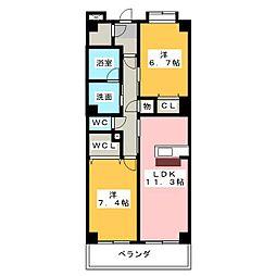 KANARE BLD[1階]の間取り