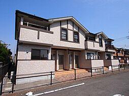 福岡県中間市池田1丁目の賃貸アパートの外観