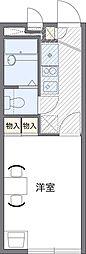 埼玉県さいたま市緑区宮本1丁目の賃貸アパートの間取り