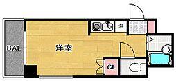 福岡県福岡市博多区吉塚3丁目の賃貸マンションの間取り