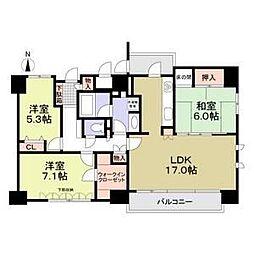 栄シティハウス[12階]の間取り