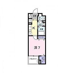 セレノ・コリーナ・ダイマチ[5階]の間取り