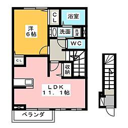 プチ メゾン[2階]の間取り