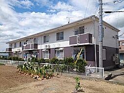 愛知県豊川市下長山町の賃貸アパートの外観