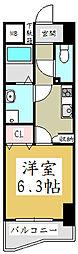 埼玉県川口市幸町3丁目の賃貸マンションの間取り