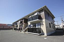 徳島県徳島市中昭和町5丁目の賃貸アパートの外観