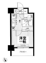 メインステージ南麻布4[8階]の間取り