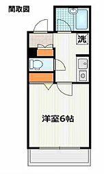 神奈川県横浜市中区翁町2丁目の賃貸マンションの間取り