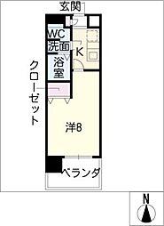 ESSE東別院[11階]の間取り