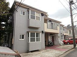 東京都三鷹市中原4の賃貸アパートの外観